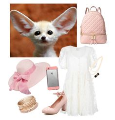 """""""Zootopia Fennec Fox girl"""" by linzhime on Polyvore featuring Yves Saint Laurent, MICHAEL Michael Kors, LifeProof and Red Camel"""