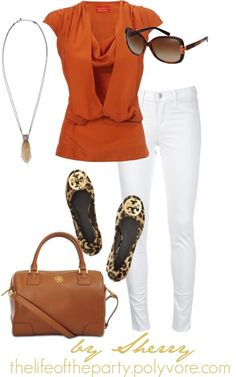 Love this color combo esp. with the leopard flats