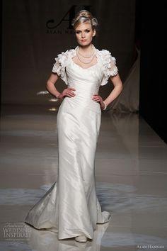 Alan Hannah Wedding Dresses 2013 — Classic Beauty Bridal Collection | Wedding Inspirasi