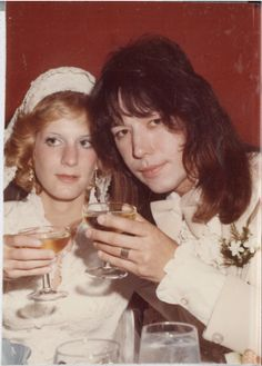 """Jeanette Trerotola and Paul """"Ace"""" Frehley married in 1976"""