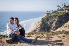 After Andrew surprised his new Bride-to-be with his seaside cliff proposal in San Diego, he surprised her once again with an engagement portrait session with Paparazzi Proposals!