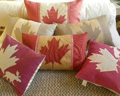 Items similar to hand printed vintage inspired Canadian flag cushion cover on Etsy Canada Day Party, Canada Day Crafts, Canadian Things, Happy Canada Day, Cool Countries, Cushion Covers, Pillow Covers, Country, Decoration