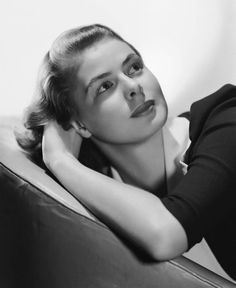 Retro Screen Goddess INGRID BERGMAN Poster  ...Various Sizes