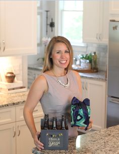 Ashely Edmonds (ABJ '05, AB '05, MBA '11). Brookhaven, GA. Lilywrap and Beer Greetings Founder and Owner.