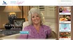 Live a life that's delicious.  Let me tell you about my life with type 2 diabetes... Paula Dean. (Novo Nordisk)