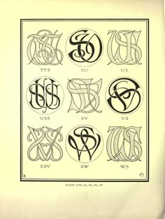 Monograms & ciphers