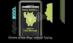 #DigitalSoon Interact with your Android Smartphone with your voice instead of typing. Android implemented new feature in its Smartphone that is #Android Voice Commands. This feature allows you to interact with your Android Smartphone  See More at http://digitalsoon.com/666/android-voice-commands.htm