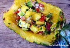 Pineapple – Avocado Salsa  #FocusOnHealthyLiving