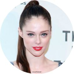 The present name of the model Coco Rocha - Mikail Rocha as the nickname of «Coco» she was given not in honor of the famous Coco Chanel. «Coco» means «little one».  #CocoRocha