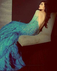 Feather dress <3