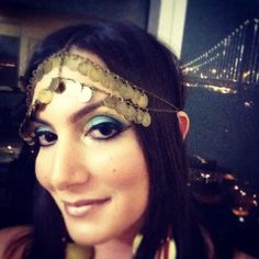 Cleopatra in the Cleopatra #halloween #bohemianblissdesigns #bohostyle #boho #tribal