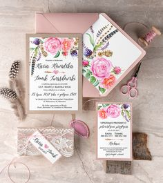 Zaproszenia ślubne #decorisus #zaproszeniaslubne #zaproszenianaslub #zaproszenia #slub #wesele #wedding #polishwedding #weddings #weddingideas #weddingstyle #party #roz #pink #kokarda #mieta #papeteria #dodatkislubne #zaproszenia #papeteriaslubna #minty #weddinginvitations #bridal #bridetobe #weddings #weddingideas #decoris #motywprzewodni #motyw #kolorprzewodni #pastele #pastels #invitations #papeteriaslubna #pannamloda #savethedate #rusticwedding #boho #bohemian #rustic #natura #roze…