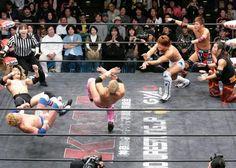 Kame Hame en lucha libre.