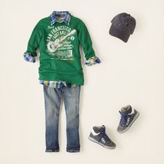 boy - outfits - ready to rock - jean team   Children's Clothing   Kids Clothes   The Children's Place