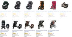 Get 30-40% off highly rated car seats and strollers today only!! #carseat #stroller #babyproducts #babysale