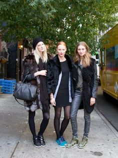 Winter Street Style Looks From NYC | StyleCaster
