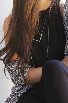 Fall Fave: Black Jumpsuit. Shop it in the Black & White Lookbook!