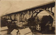 The old North Hill Viaduct in Akron, Ohio