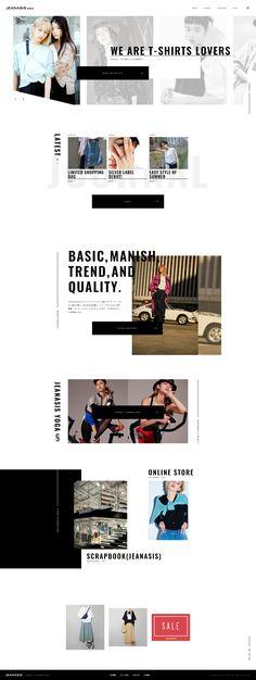 JEANASIS MEDIA Online Portfolio Design, Fashion Portfolio Layout, Best Web Design, Web Design Trends, Web Layout, Layout Design, Email Design, Web Design Inspiration, Interactive Design