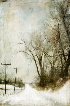 Jamie Heiden ~ The Bleakness Of Winter Watercolor Landscape, Landscape Art, Landscape Paintings, Watercolor Art, Winter Painting, Art Abstrait, Paintings I Love, Winter Landscape, Love Art