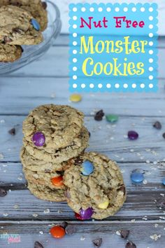 My four year old son Aiden has a life threatening peanut allergy and also cannot have any tree nuts so we have a completely nut free home. That means that all of the recipes you find on my site are able to be made completely nut free. Here is a favorite, monster cookies, that usually …