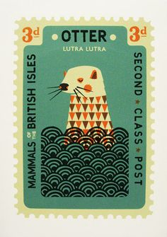 Vintage Illustrations Pre-decimal UK stamp / by tom frost - I visited Elcaf yesterday to pick up a package of prints by the illustrator Tom Frost. I've been selling a selection of his greetings cards, published by Betty Art And Illustration, Graphic Design Illustration, Illustrations Posters, Graphic Art, Illustrator, Vintage Stamps, Grafik Design, Mail Art, Vintage Posters