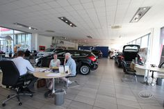 Our new car line up at Essex Auto Group in Southend.