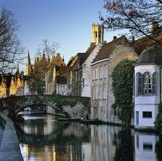 Brujas, romanticismo a la belga