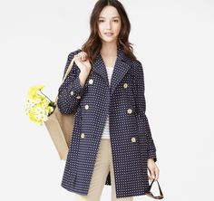 Dotted Square Jacquard Trench - Johnston & Murphy Johnston Murphy, Wardrobe Staples, Trench, Sunnies, The Selection, Men's Shoes, Blazer, My Style, Coat