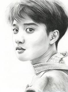 Kyungsoo .:dIE JUNGs FanArt:. by FallThruStardust