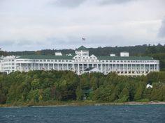The Grand Hotel - Mackinaw Island, MI #puremichigan