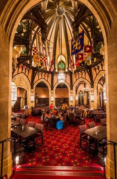Cinderella's Royal Table Restaurant at Disney World's Magic Kingdom Disney World Food, Disney World Magic Kingdom, Disney World Vacation, Disney World Resorts, Disney Vacations, Disney Trips, Walt Disney World, Disney Parks, Disney 2017