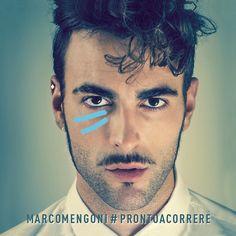 album cover art: marco mengoni - #prontoacorrere [03/2013]