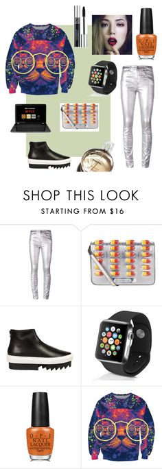 свитшот by malishevan on Polyvore featuring мода, Étoile Isabel Marant, Givenchy, Moschino, Apple, Christian Dior, OPI and Chanel