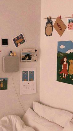 Pin By Nah On Residence Room Decor Aesthetic Rooms Bed room Artwork Bedroom Art, Bedroom Inspo, Bedroom Ideas, Bedroom Wallpaper, Master Bedroom, My New Room, My Room, Bedroom Decor For Couples, Room Goals