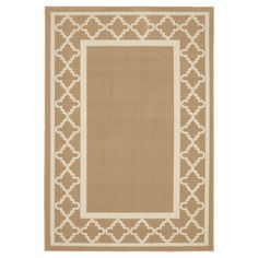 Update a room instantly with the sophisticated Garland Moroccan Frame Rug. This stylish accent rug is made from sturdy, machine-tufted polypropylene that's quick drying and resistant to stains, while a low pile stands up to wear and tear even in high traffic areas. With a frame design and a large, decorative border. Choose from a variety of colors and sizes to create the best look for your home.