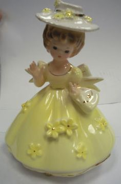 Josef Originals Vintage Antique Southern Belle Figurine