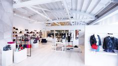 This is also the Cali-bred designer's largest store ever.