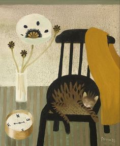 Mary Fedden. The Poppy, the Cat & the Compass, 2005.