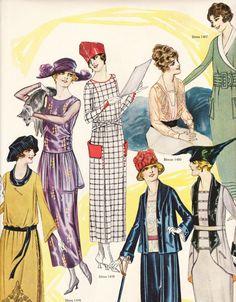 artdeco.quenalbertini: The Delineator gives us 1919 Fashions