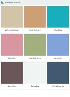 Find your paint colors here. Behr Paint Colors, Paint Color Palettes, Wall Colors, No More Drama, Spiced Wine, Agave Plant, Mirror Lake, Old Flame, Morning Sky