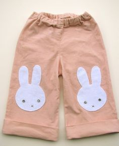 Bunny Pants! (with a little tutorial)