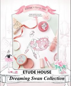Etude House Dreaming Swan Collection http://www.mybeautykiss.ro/EtudeHouse_DreamingSwanCollection.php