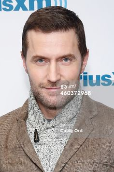 Richard Armitage visits the SiriusXM Studios on December 2014 in New York City. (Photo by Cindy Ord/Getty Images) Richard Armitage, Gabriel, John Thornton, Press Tour, Lee Pace, Best Actor, Along The Way, The Hobbit, Beautiful Men