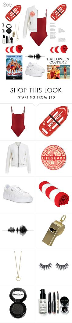 """""""Soly: baywatch"""" by solyslstore ❤ liked on Polyvore featuring Jade Swim, Object Collectors Item, Puma, Manic Panic NYC and Bobbi Brown Cosmetics"""