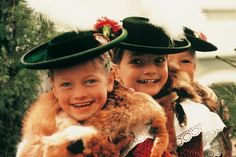 Kinder mit Tracht in Bad Tölz #Miesbach