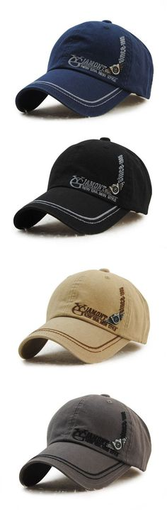 d7438b362cb Men s Cotton Washed Embroidery Letter Baseball Cap Leisure Outdoor Golf  Snapback Hat is hot sale on Newchic.