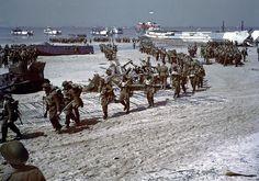 Juno Beach Canadian Reinforcements
