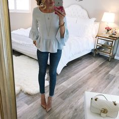 All the  for this top. It is so perfect for Spring. http://liketk.it/2qL94 #liketkit @liketoknow.it