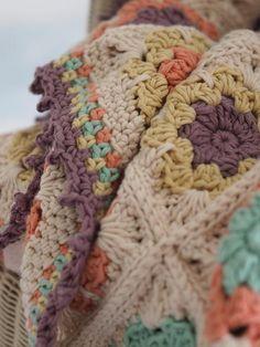Florear Blanket PDF Digital Download Pattern   Etsy Crochet Motifs, Granny Square Crochet Pattern, Crochet Borders, Afghan Crochet Patterns, Crochet Squares, Knitting Patterns, Blanket Crochet, Crochet Afghans, Ravelry Crochet